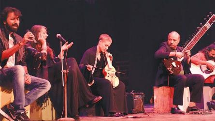 ELISABETTA DEL FERRO AND FRIDA NERI LIVE AT NAPA - PAKISTAN